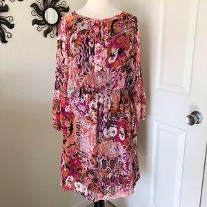 Ivanka Trump Blouson Dress Size 12